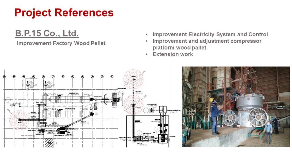 B P 15 Co Ltd Improvement Factory Wood Pellet Advance